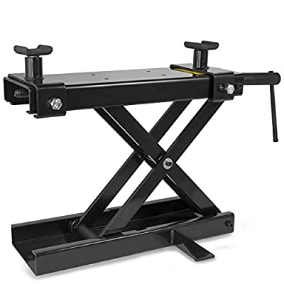 1100Lbs Motorcycle Scissor Center Jack Lift Repair Stand