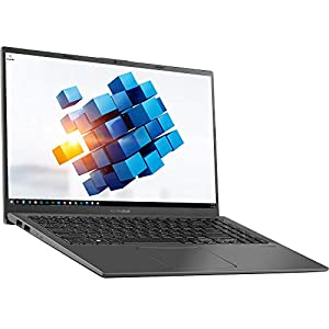 ASUS VivoBook 15.6″ FHD Touchscreen Notebook – Intel Core i5-1035G1 1.0GHz – 8GB RAM 256GB PCIe SSD – Webcam – Windows 10 Home, Black