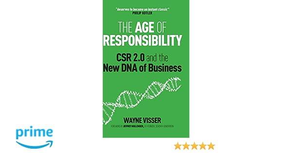 Age of Responsibility: Amazon.es: Visser: Libros en idiomas ...