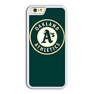 MLB American League Oakland Athletics team logo #2 TPU iPhone 6 case protective skin cover