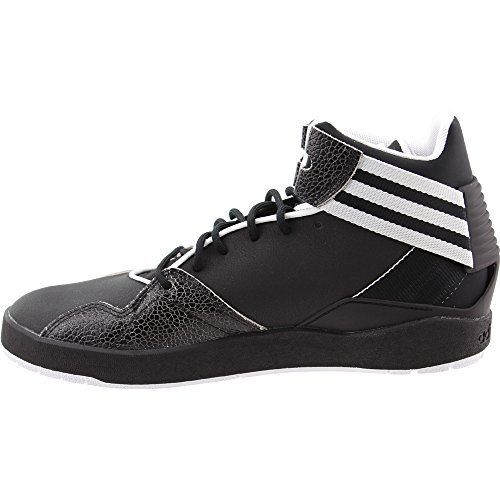 Adidas Originals Heren Crestwood Mid-top Fashion Sneakers Zwart / Zwart / Wit
