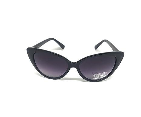 Amazon.com: Boogafas Cat Eye Black Classic Grand-tip frame (black): Clothing