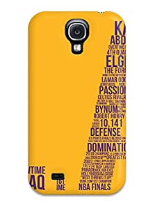 Hot BfnXYMt3696SjvSf Lakers Tpu Case Cover Compatible With Galaxy S4