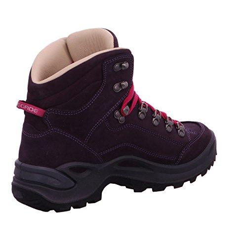 Lowa 3209300535 - Zapatillas de senderismo para mujer Morado - Plaume
