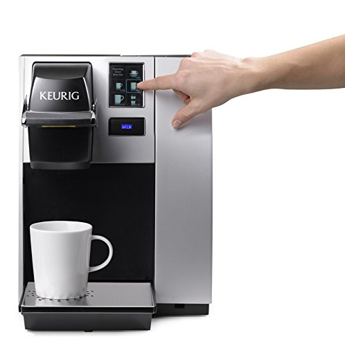 41Cu3i8j9iL - Keurig K150 Single Cup Commercial K-Cup Pod Coffee Maker, Silver(Direct plumb kit not included)