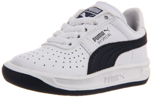 new arrivals 1c9a2 b642f PUMA GV Special Kids Sneaker , White/New Navy, 10 M US ...