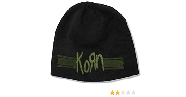 Korn Oval Logo Beanie Knit Hat
