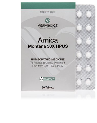 30 Pack Blister Tablets (VitaMedicaArnica Montana Blister Pack 30x HPUS 30 Tablets)