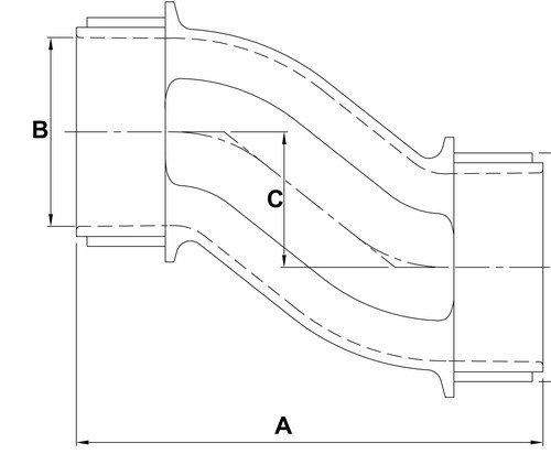 Zinc Die Cast 1-1//2 Thread Size 1-1//2 Thread Size Morris Product Morris 14464 Rigid Offset Nipple