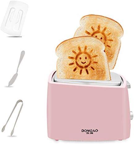 WaLizHb Stijlvolle en eenvoudige automatische broodrooster voor thuis, ontbijtmachine, toast-broodrooster, 2 broodroosters, automatisch uitklapbaar, meervoudige instelling