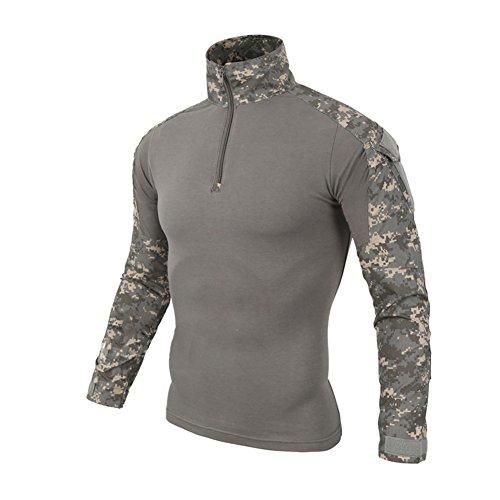 Lanbaosi Tactical Combat Dry Quick Shirt Military Duty Uniform Hunting T-Shirt, Ucp,...