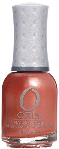 Frosted Coral - Orly Nail Lacquer, Peachy Parrot, 0.6 Fluid Ounce