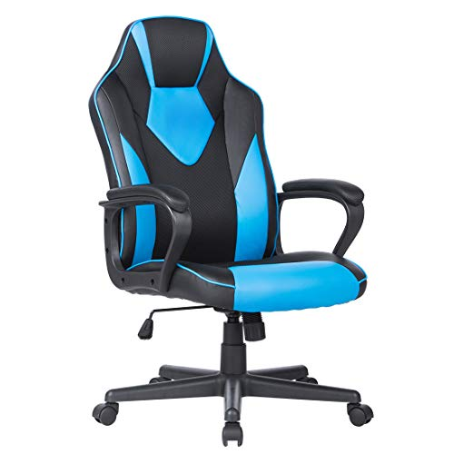 Novelland Essentials Racing Style Leather Gaming Chair