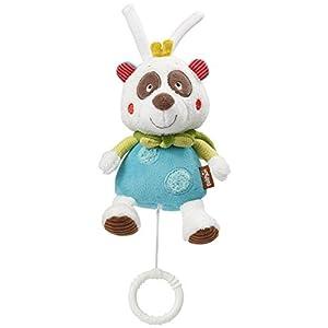 BabySun Mini Musical Peluche Forme Panda Multicolore 107