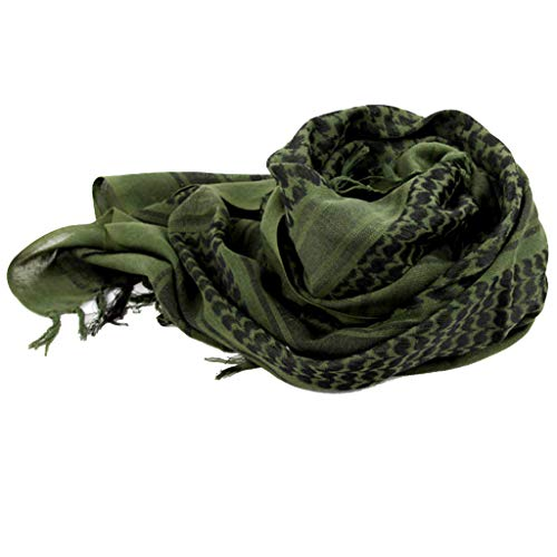Outdoor Military Arab Tactical Desert Keffiyeh Scarf Shawl Neck Cover Head Wrap -