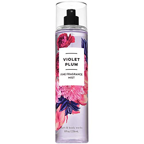 Bath and Body Works Violet Plum Fine Fragrance Mist 8 Fluid Ounce
