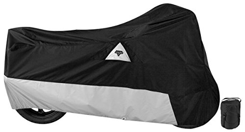 Nelson-Rigg DE-400-05-XX Black XX-Large Defender All Weather Motorcycle Cover