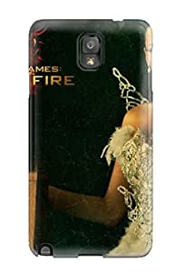 LYJsMbP2068jeXyh ChrisPeters Katniss Everdeen - The Hunger Games Feeling Galaxy Note 3 On Your Style Birthday Gift Cover Case