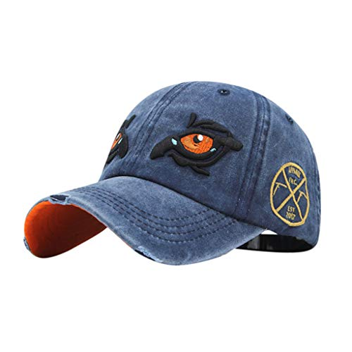 Mbtaua Summer Outdoor Embroidered Caps Retro Baseball Caps Dad Hat Adjustable Hat Cool Caps
