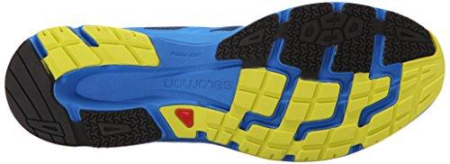 Salomon L37937800, Zapatillas de Trail Running para Hombre Azul (Midnight Blue /     Bright Blue /     Gecko Gre)