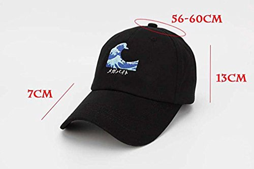 e4d07cc65653a ... promo code for kokkn wavy snapback baseball caps duck tongue hat  outdoor leisure visor cap dad