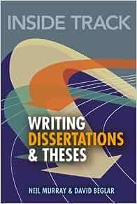 inside track to writing dissertations and theses Sjekk pris i din lokale akademikabokhandel her har vi også pensumpakker og app-tilbud.