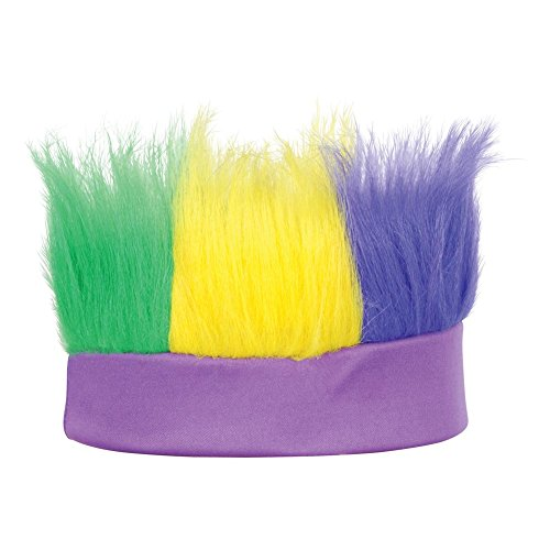 Beistle 60277-GGP Green, Gold, Purple Hairy - Gold Purple Shop And