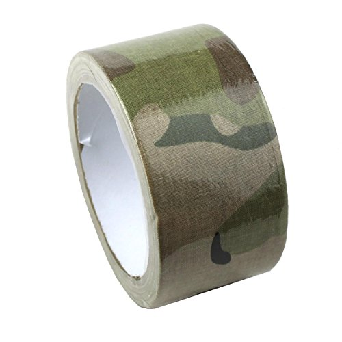 OLSUS Cloth Carrier Backing Premium Camouflage Tape Pro Camo Duct Polyethylene Film - Camouflage (Duct Carrier)