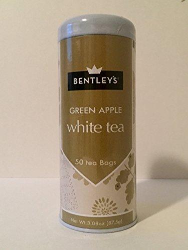 Bentley's Tranquility Line Green Apple White Tea, 50 Tea Bags