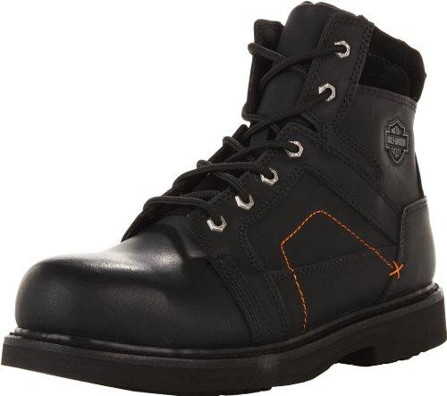 Harley-Davidson Pete acero del dedo del pie de la motocicleta bota de seguridad: Amazon.es: Zapatos y complementos