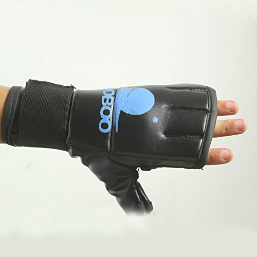 Boxing Glove Training Muay Thai Sparring Combat Punch Bag Palms Hollow Design, Breathable Wicking Protect Your Hands In