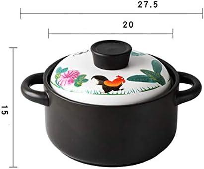 SHYOD Céramique, Soupe Pots, Cuisine Ménage Pots, Petit Lait Boiling Pots, Ustensiles de Cuisine