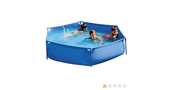 Piscinas Toi 3155 Piscina hexagonal Azul 230x50 cm: Amazon.es: Jardín