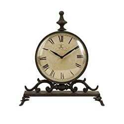 IMAX 27562 Eilard Iron Table Clock