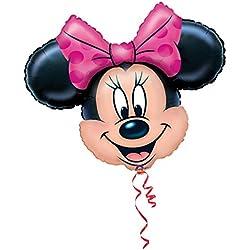 Amscan - Globo Supershape con diseño de Minnie Mouse