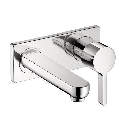Hansgrohe 31163001 Metris S Wall-Mounted Single Handle Faucet Trim, Chrome - Metris Single Handle