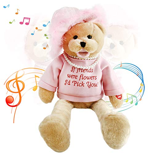 (Houwsbaby Musical Teddy Bear with Pearl Sings