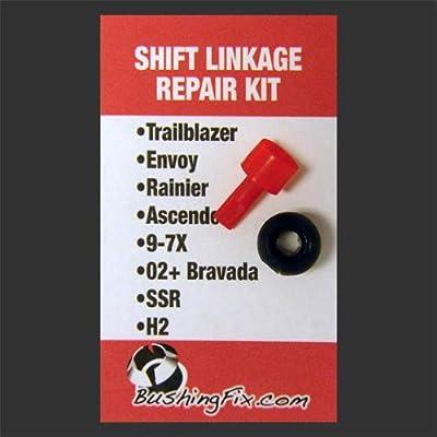 BushingFix TB1KIT9 - Transmission Shift Cable Bushing Repair Kit: Automotive