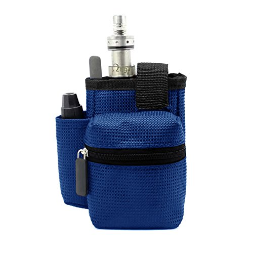 Gintai Ego Travel Carry Vape Case Multiple Use for Vape Box Mod Kit Bag (Blue)