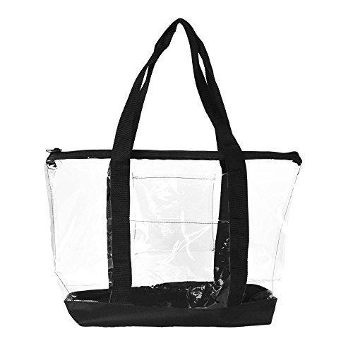 Dalix Womens Shopping Clear Handbag
