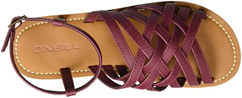 Femme Rot Sandales O'Neill Bride Fw Cheville Beajolais Braided qwzRPFT