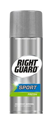 Right Guard Sport Aerosol Deodorant, Fresh, 8.5 Ounces (Pack of 12) 12 Guard