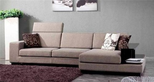 Amazon Com Norfolk Sectional W Attached End Table Home Kitchen