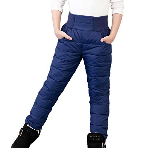 Xinding Boys Casual Training Sweatpants Silly Face Adjustable Waist Trousers with Pocket