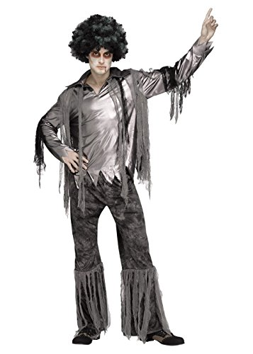 (Fun World Men's Disco is Dead Costume, Multi)