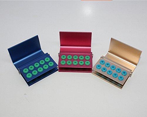 Careshine 3pcs 10 holes FG Bur Burs Disinfection Autoclave Holder Block