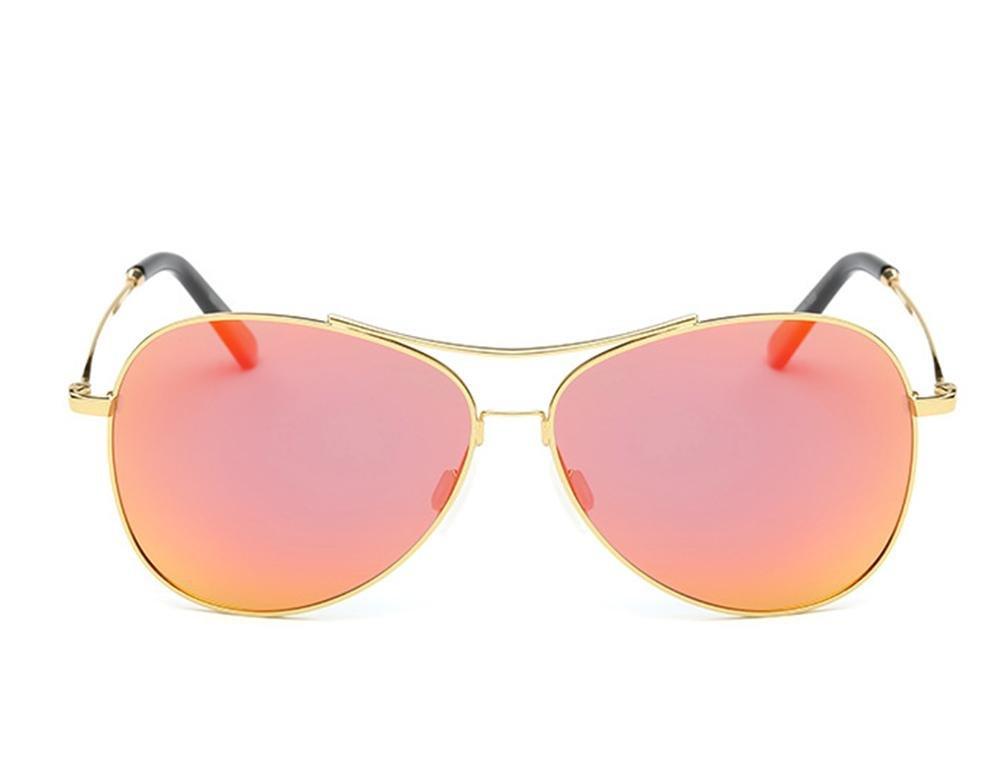 HETAO personnalité lunettes de soleil polarisées de couleur digne d'intérêt , orange Verres décoratifs