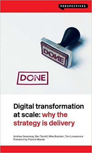 Digital Transformation at Scale book cover