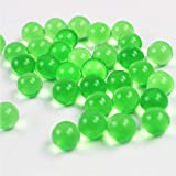 TOSOAR Magic Water Beads 11000 pcs Clear Water gel Beads Kids Tactile Toys Sensory Toys Water gel Pearl Beads Plant Decoration Crafts Orbeez Spa Refill (green)