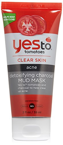 Yes to Tomatoes Detoxifying Charcoal Mud Mask, 2 Ounce (Yes Tomato Soap compare prices)